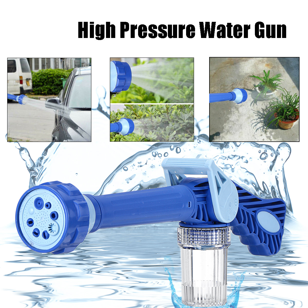 FoamCannon™ Car Wash Sprayer High Pressure Washer For Car, Windows, Garden Spraying