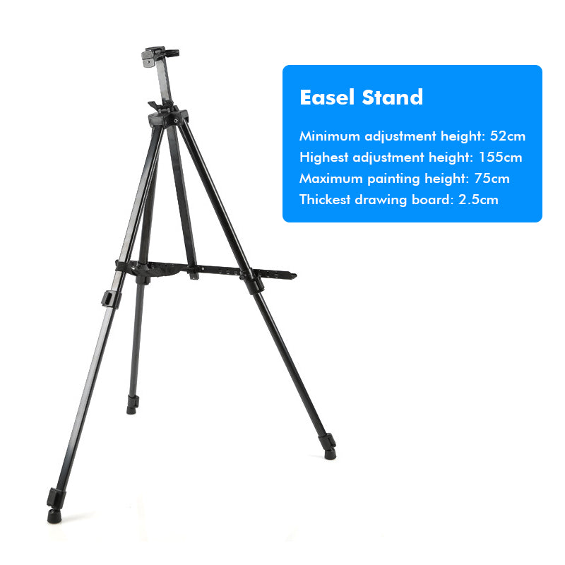 EaselPro™ Easel Stand - Standing Art Easel For Kids Or Adults - A Field Painters Easel With Carry Bag - Fully Adjustable Art Easels For Painting - Markdown Mart