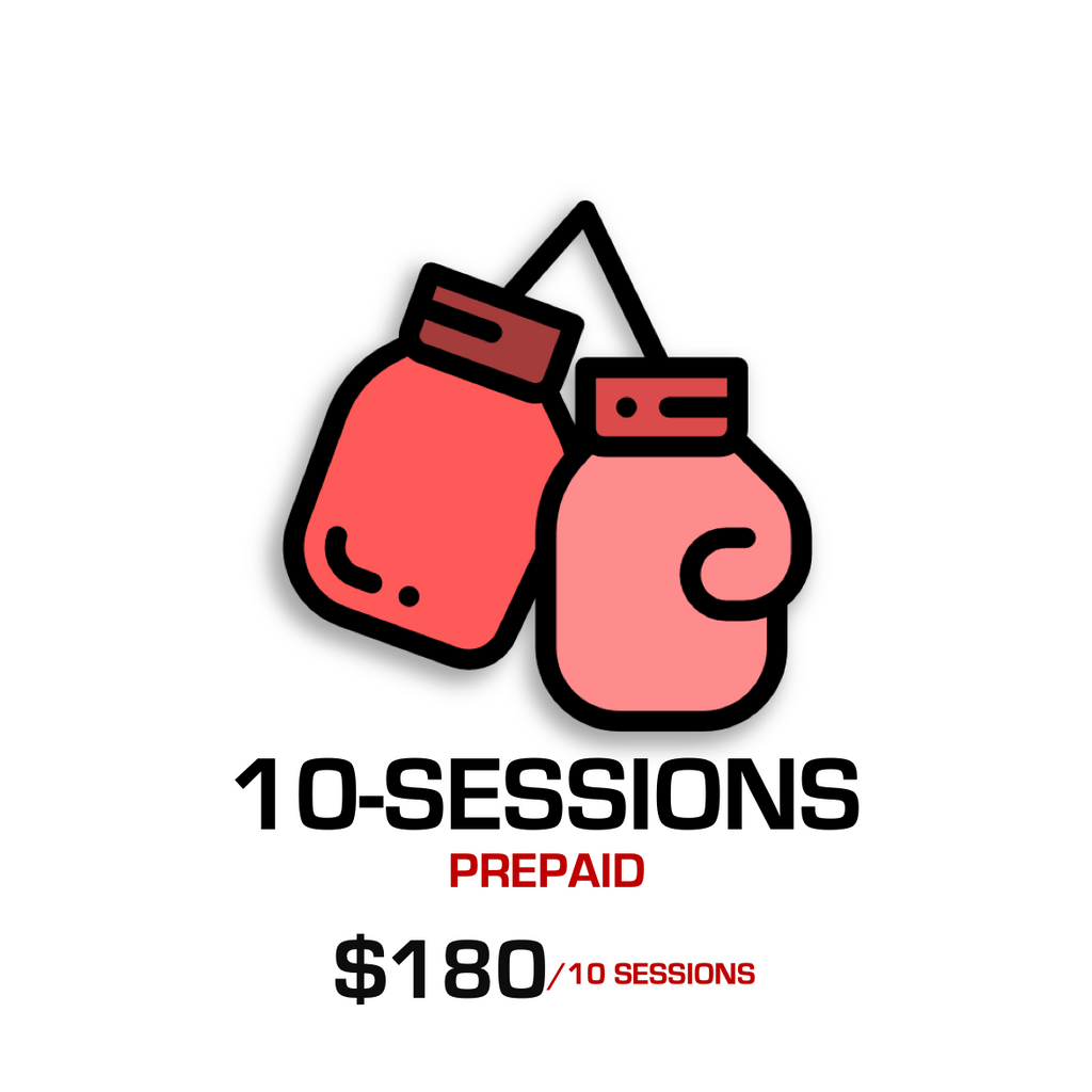 10 Session for $180