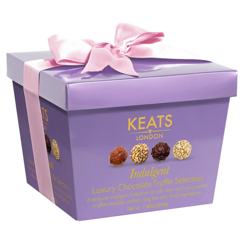 Keats Purple Truffle Selection Box 210g