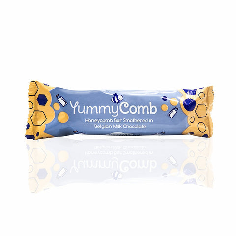 YummyComb Milk Chocolate Honeycomb Bar