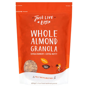 Just Live A Little - Almond Granola 400g