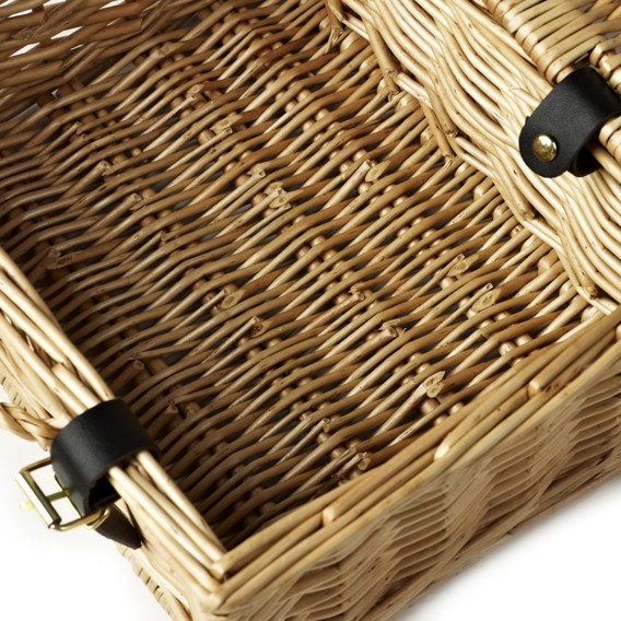 12 Inch Wicker Hamper