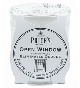 Prices Open Window Candle Jar