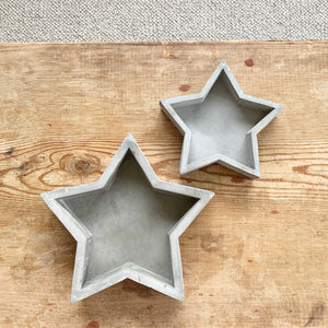 Star Cement Tray Medium