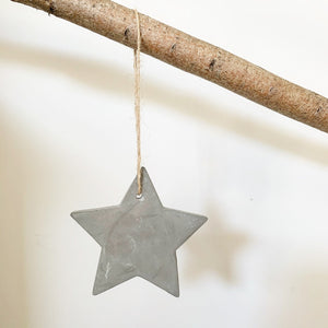 Cement Star Decoration, Small