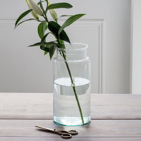 Broadwell Vase, Tall - Recycled Glass