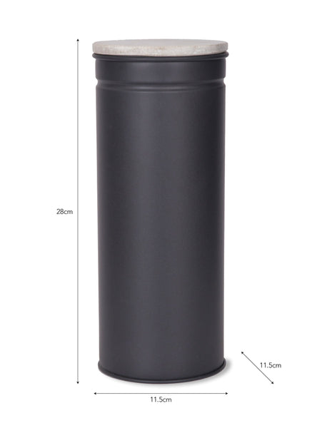 Brompton Tall Canister in Carbon - Steel