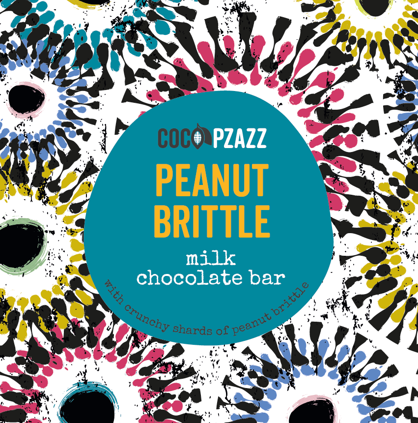 Coco Pzazz Peanut Brittle Bar 80g