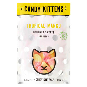 Candy Kittens Treat Bags Tropical Mango 108g