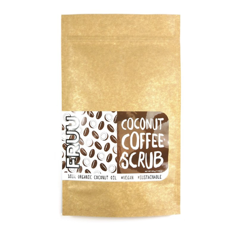 FRUU Coconut Coffee Scrub