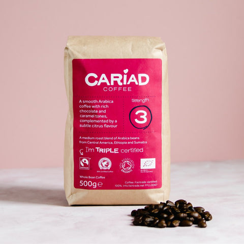 Cariad Coffee Whole Bean 500g
