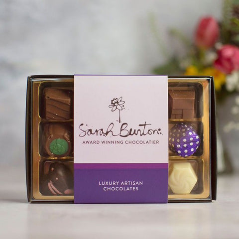 Sarah Bunton Box of 12 Chocolates