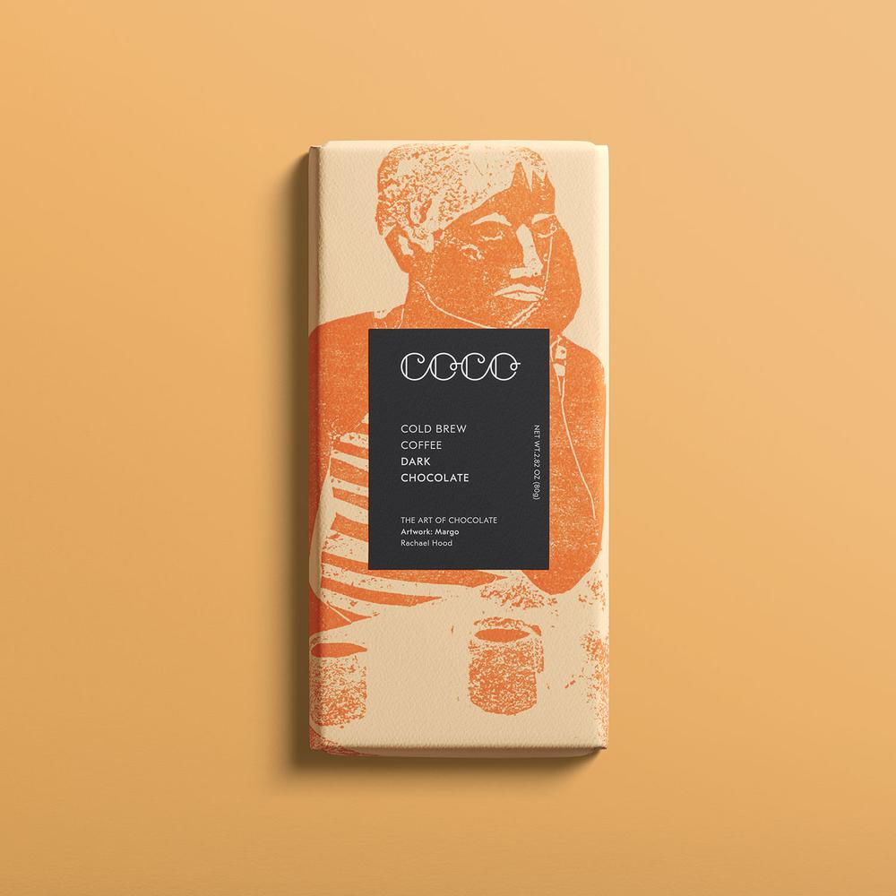 COCO Cold Brew Coffee Dark Bar 80g