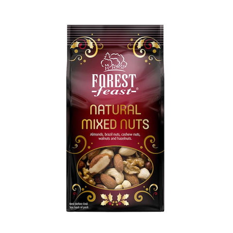 Forest Feast - Natural Mixed Nuts 120g