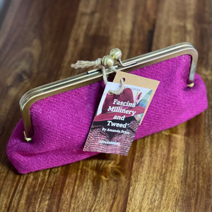Amanda Price Clutch Bag Pink
