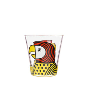 Jane Foster Glass Tumbler - Parrot
