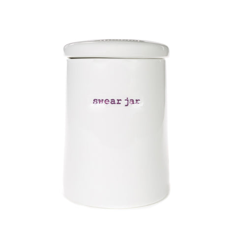 Keith Brymer Jones Storage Jar - Swear Jar