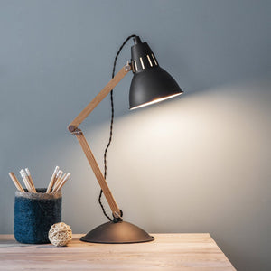Bermondsey Table Light in Carbon