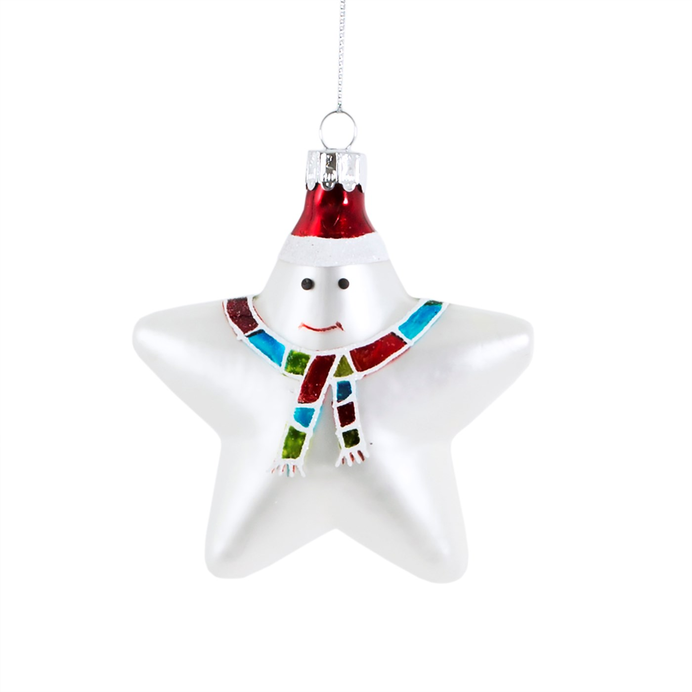 Snow Day Star Shaped Bauble