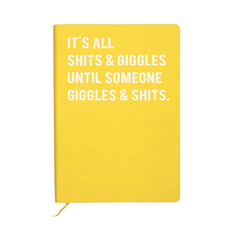 Cloud Nine Shits & Giggle A6 Notebook
