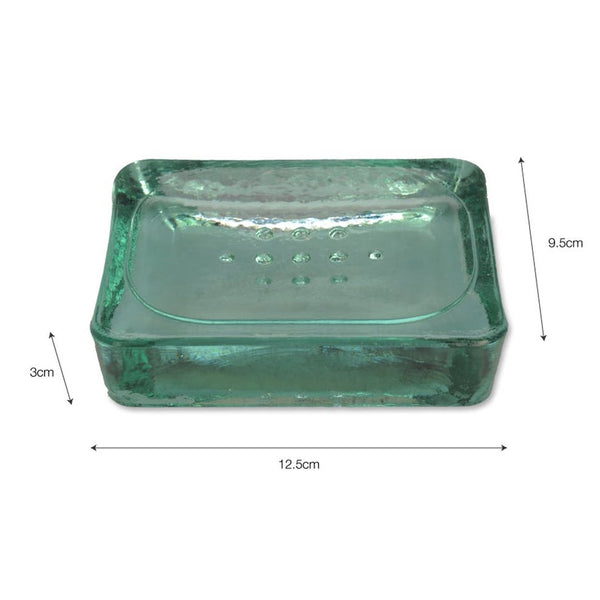 Wells Soap Dish - Recycled Glass