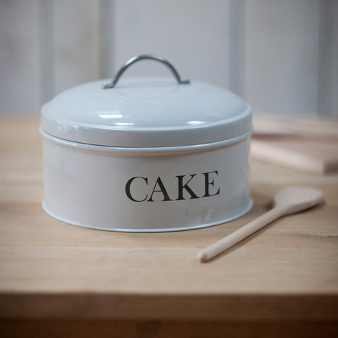 Round Cake Tin in Chalk