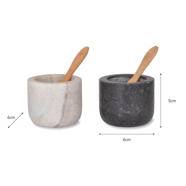 Salt and Pepper - Marble and Granite