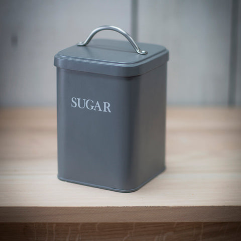 Sugar Canister in Charcoal