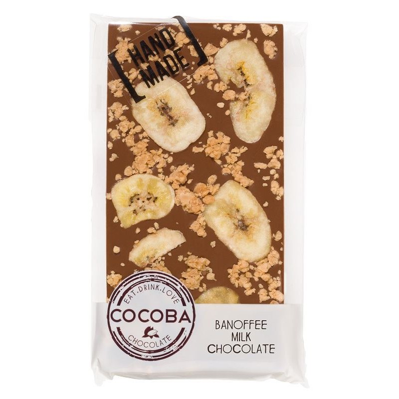 Cocoba Banoffee Milk Chocolate 100g