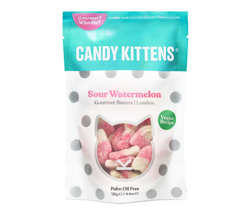 Candy Kittens Sharing Bag Sour Watermelon 125g