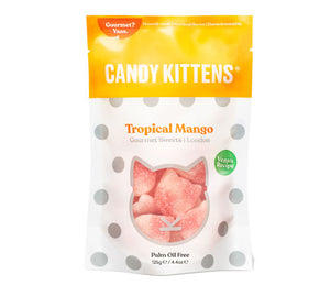 Candy Kittens Sharing Bag Tropical Mango 125g