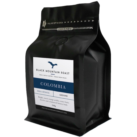 Black Mountain Roast Beans Columbia 250g