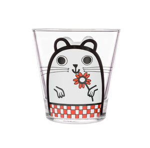 Jane Foster Glass Tumbler - Hamster