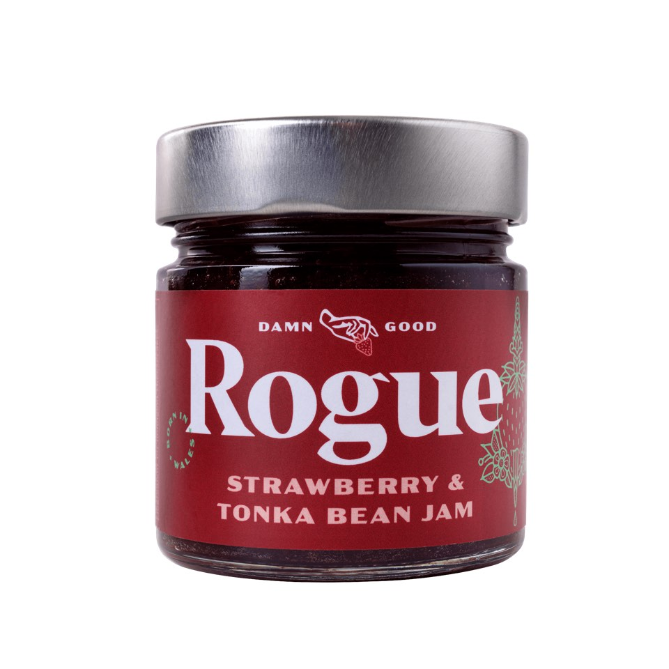 Rogue Strawberry & Tonka Bean Jam