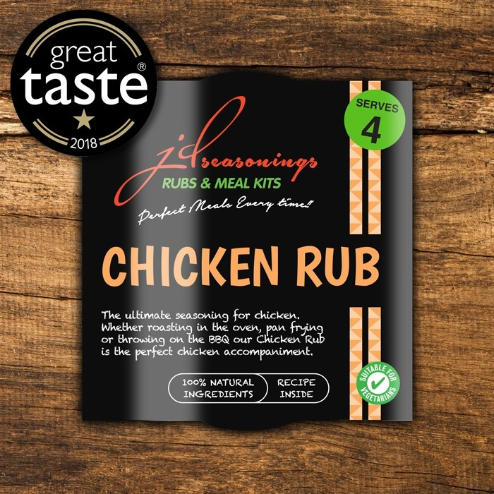 JD Seasonings Chicken Rub