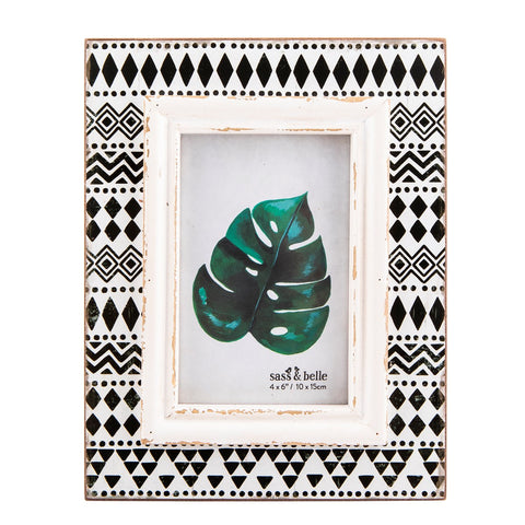 Scandi Boho Geo Photo Frame