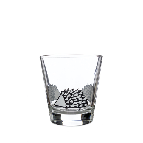 Scion Living Spike Hedgehog Glass Tumbler - Grey