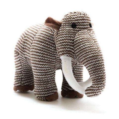 Stripe Woolly Mammoth Dinosaur Rattle