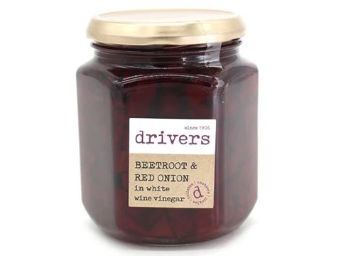 DRIVERS Beetroot & Red Onion in Vinegar