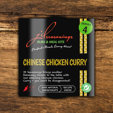JD Seasonings Chinese Chicken Curry