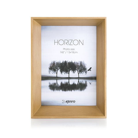 "Horizon Series Frame 7x5"" (13x18cm) Natural"