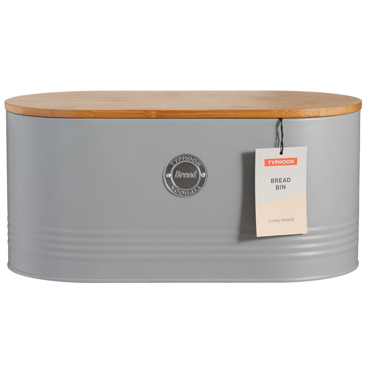 Living Grey Bread Bin