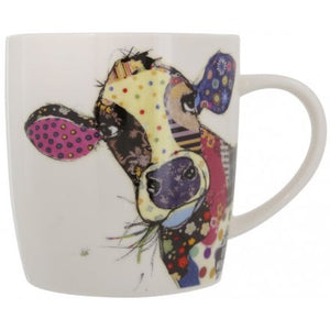Bug Art Connie Cow Design Mug