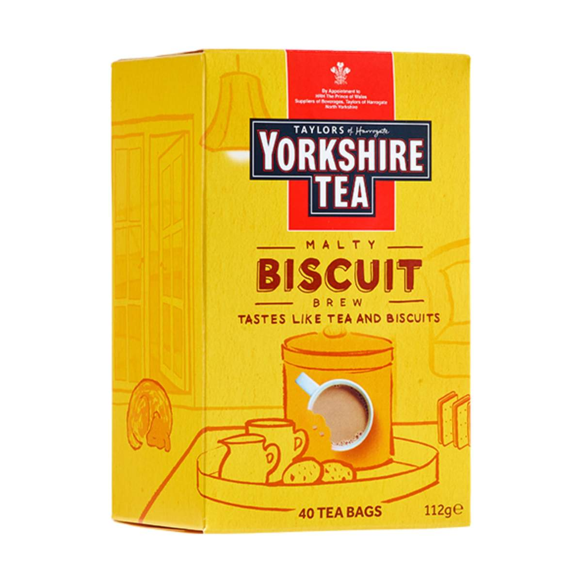Yorkshire Tea Biscuit Brew Teabags