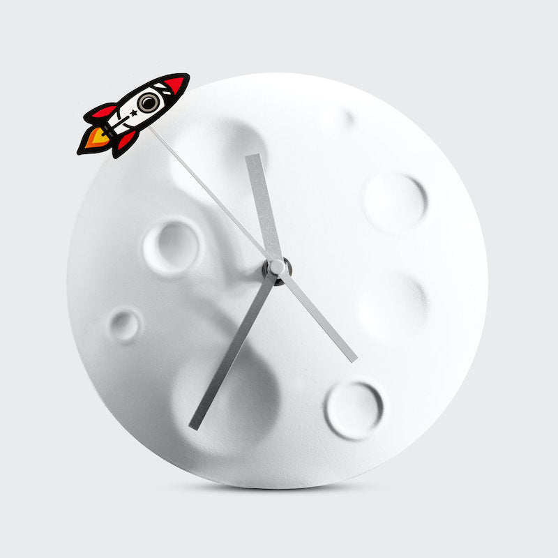 Rocket Moon Clock