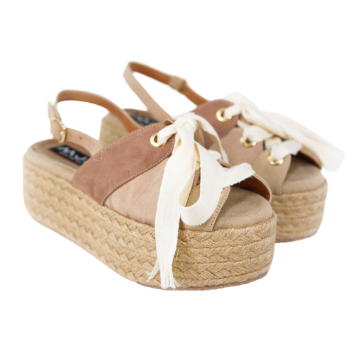 LOW KUWAIT BEIGE FLATFORMS