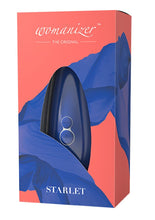 Load image into Gallery viewer, Womanizer Starlet 2 Rechargeable Silicone Clitoral Stimulator - Blue