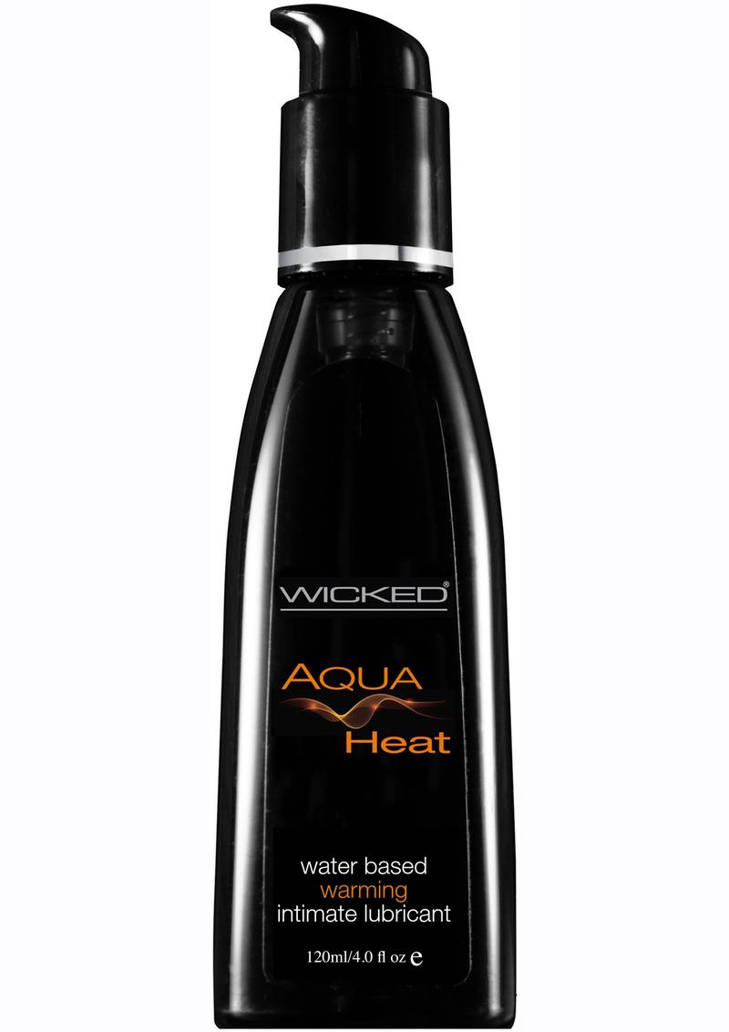 Wicked Aqua Heat Water Based Warming Lubricant 4 oz