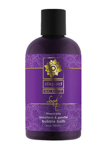 Sliquid Balance Soak Limoncello Bubble Bath 8.5oz